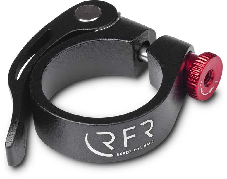 RFR Sattelklemme mit Schnellspanner 34,9 mm black n red