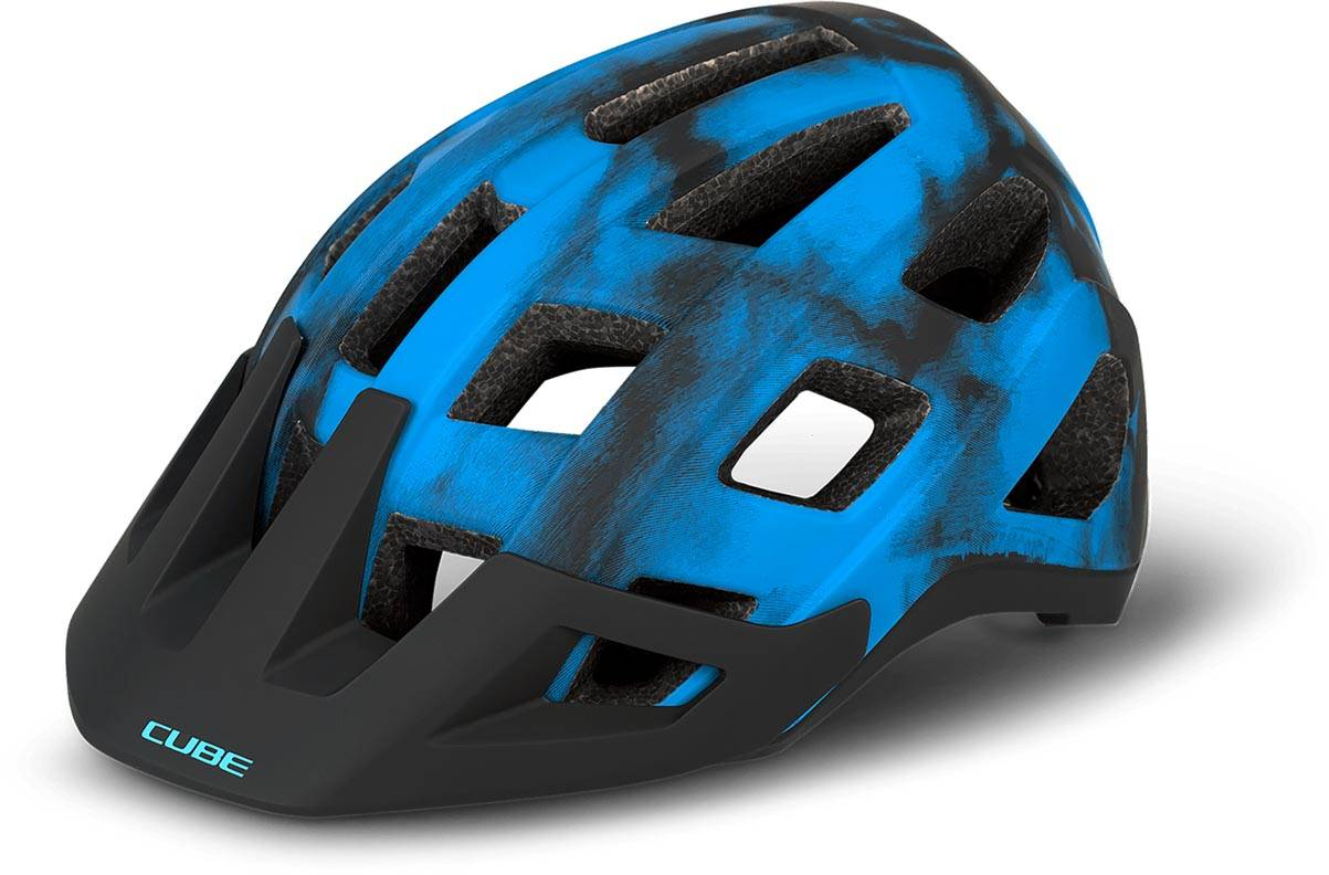 Cube Helm BADGER - blue