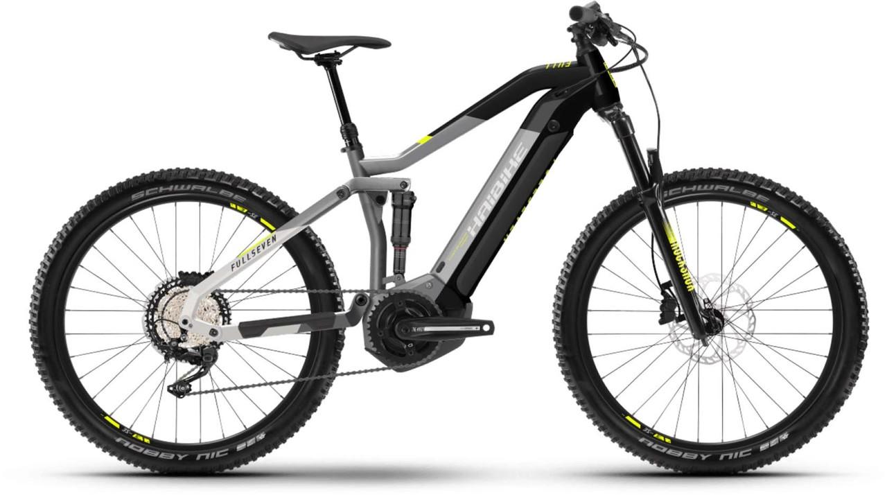 Haibike FullSeven 6 i630Wh urban grey/black 2021 - E-Bike Fully Mountainbike