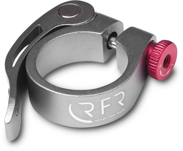 RFR Sattelklemme mit Schnellspanner 34,9 mm grey n red