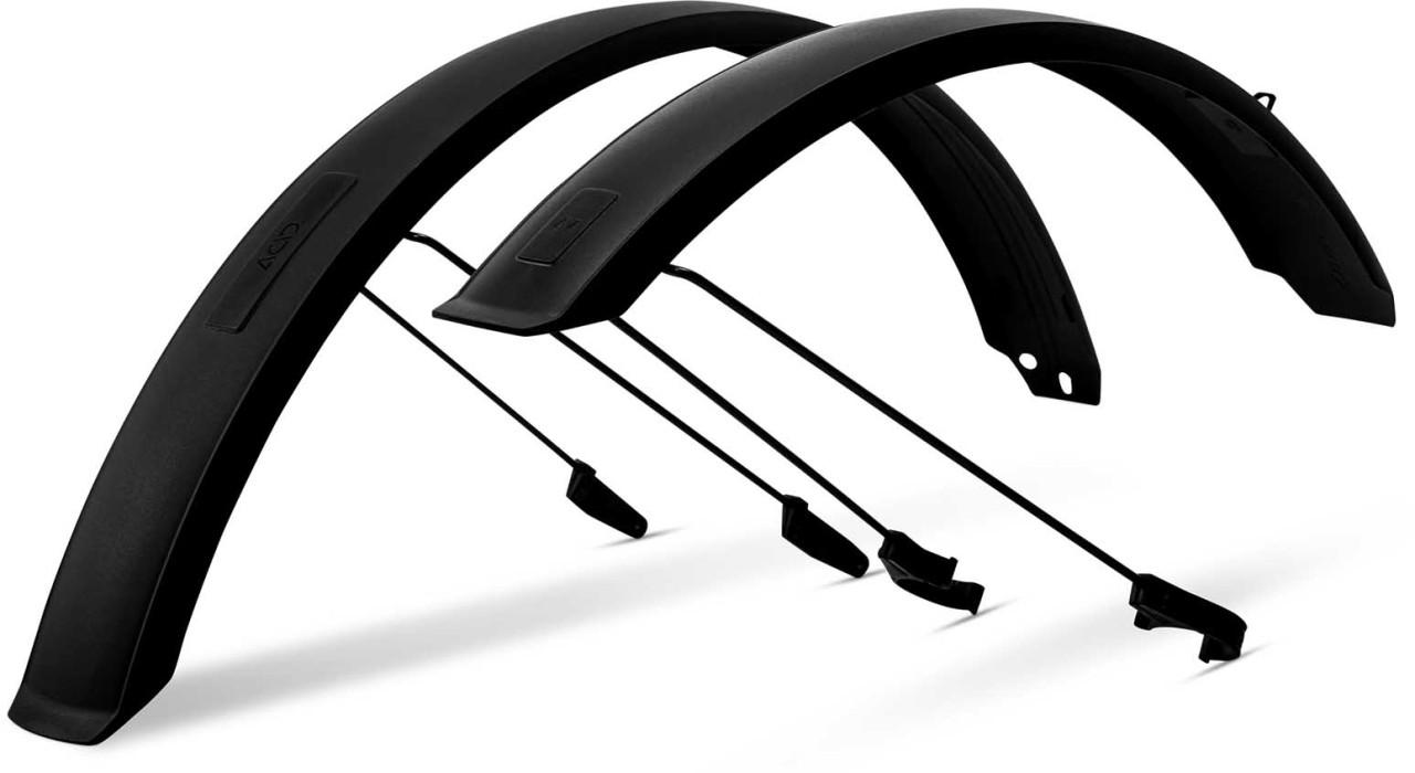 ACID Schutzblechset MTB 75 mit Streben black