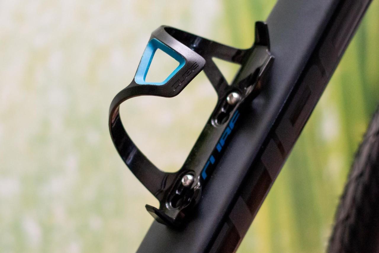 Cube Flaschenhalter HPP Sidecage black n blue