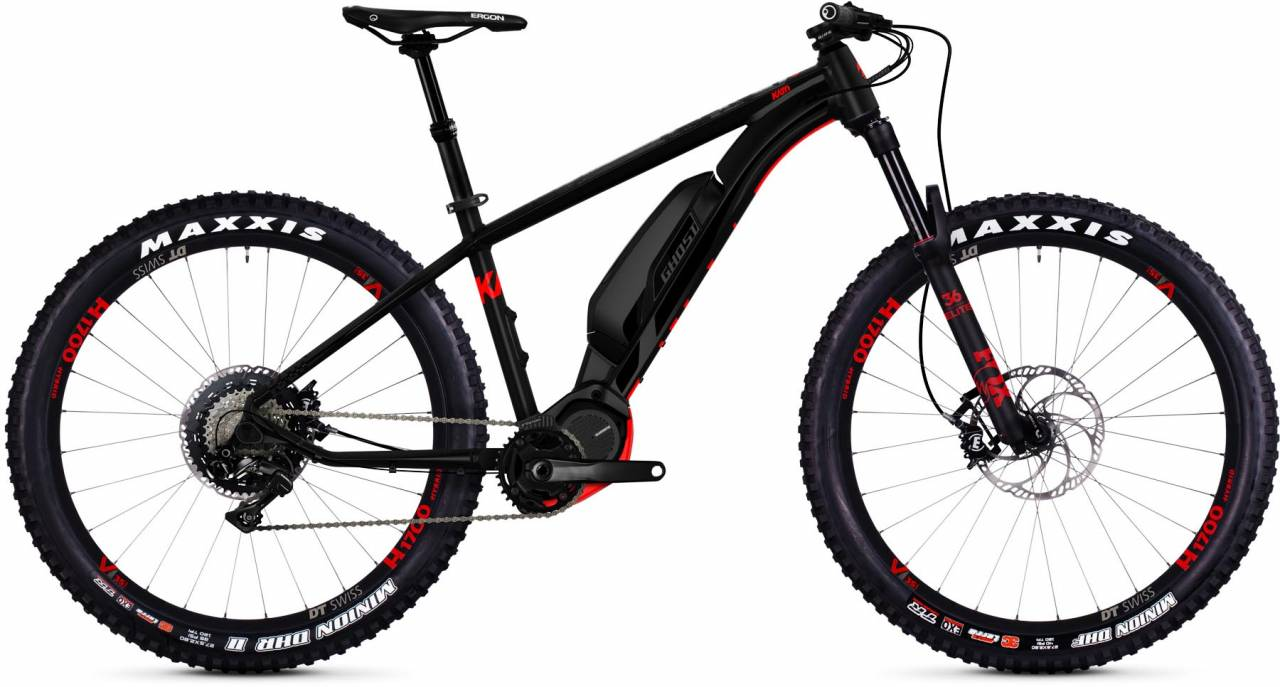 Ghost Hybride Kato S8.7+ AL 2018 - E-Bike Hardtail Mountainbike