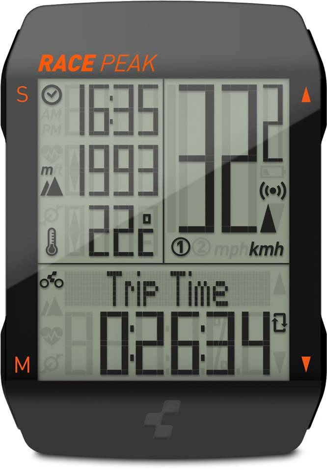 Cube Fahrradcomputer RACE PEAK black n orange