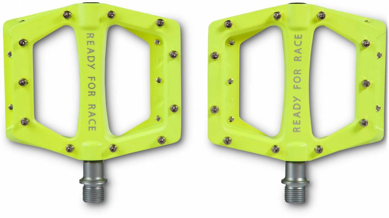 RFR Pedale Flat RACE neon yellow