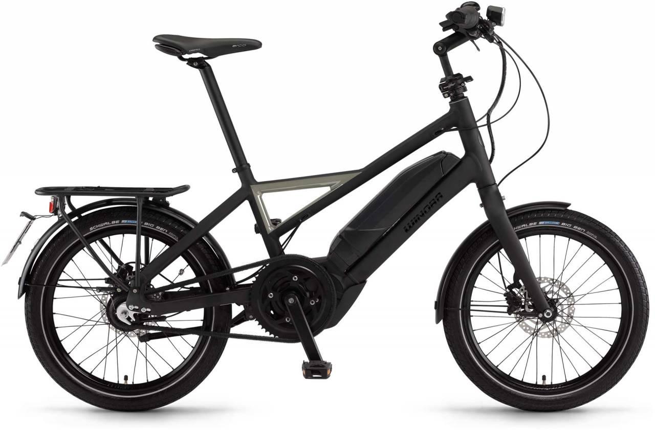 """Winora radius speed 500Wh 20"""" schwarz/metal matt 2017 - Herren E-Bike Fitnessrad"""