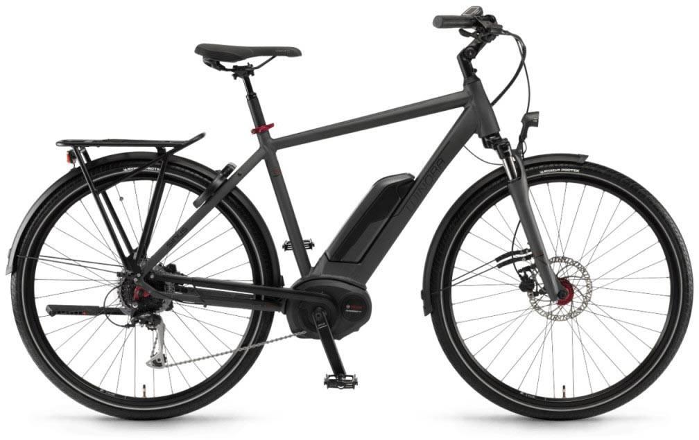 "Winora Tria 9 500Wh 28"" mysterypearl matt 2018 - Herren E-Bike Trekkingrad"