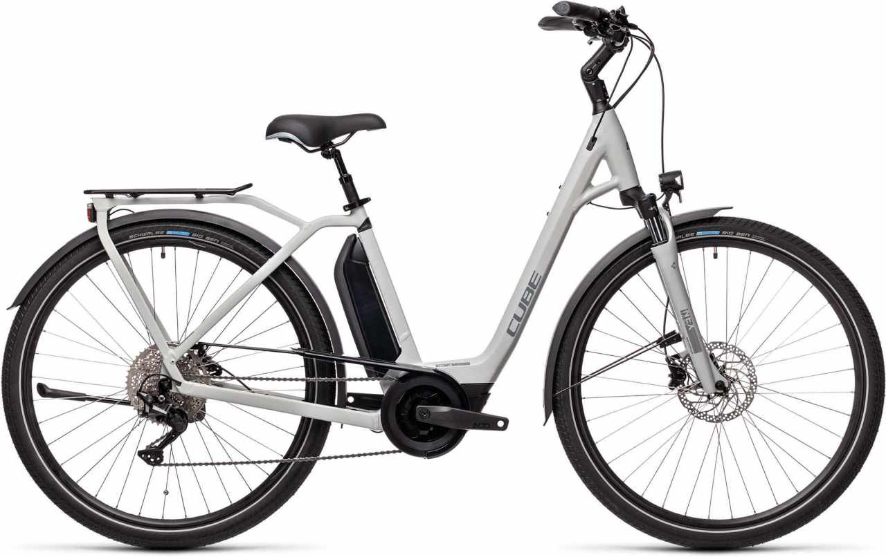 Cube Town Sport Hybrid Pro 500 grey n grey 2021 - E-Bike Trekkingrad Tiefeinsteiger
