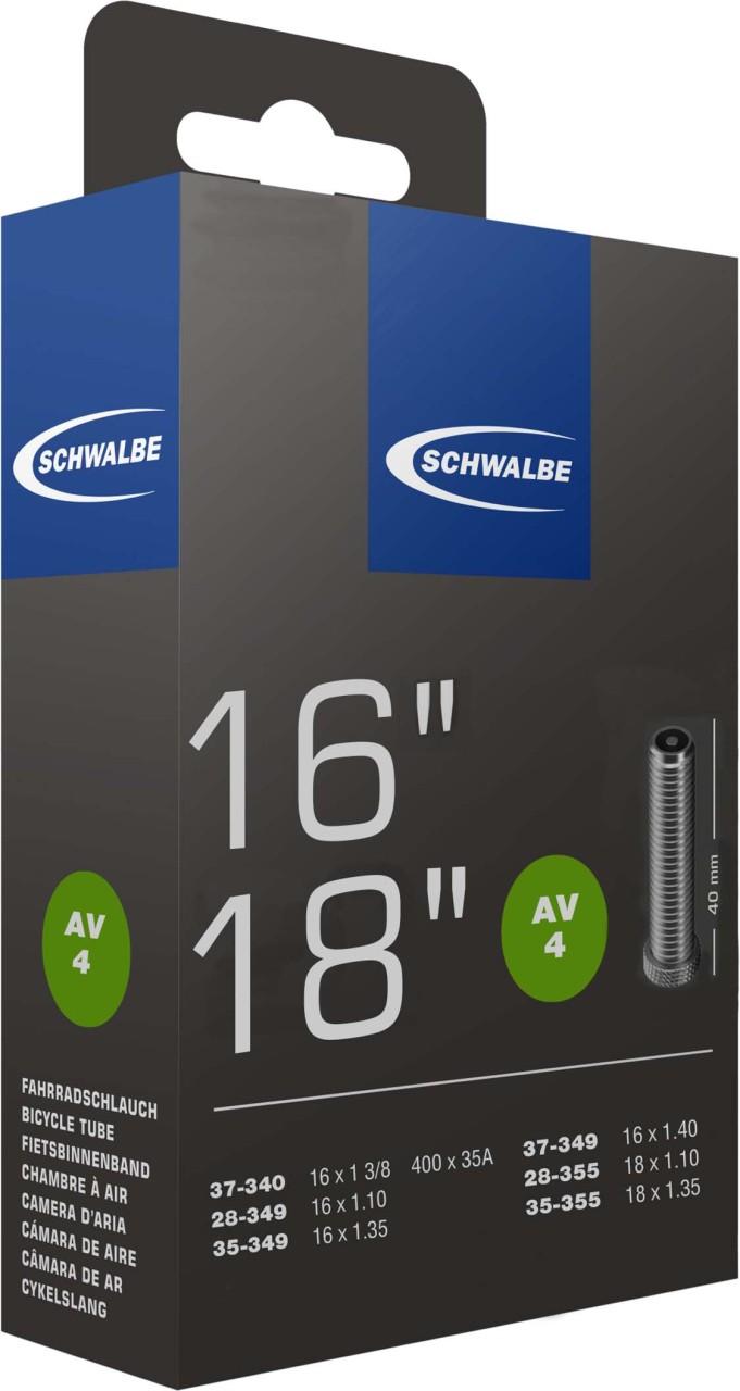 """Schwalbe Schlauch AV Nr. 4 16""""/18"""""""