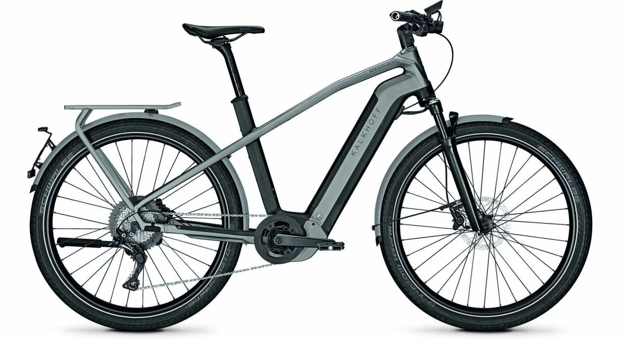Kalkhoff Endeavour 7.B Excite 45km/h magicblack/jetgrey matt (Diamond) 2021 - E-Bike Trekkingrad Her