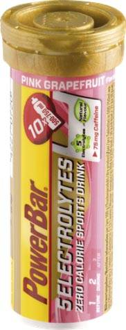 PowerBar 5 Electrolytes Sports Drink Pink Grapefruit + Koffein Sportgetränk