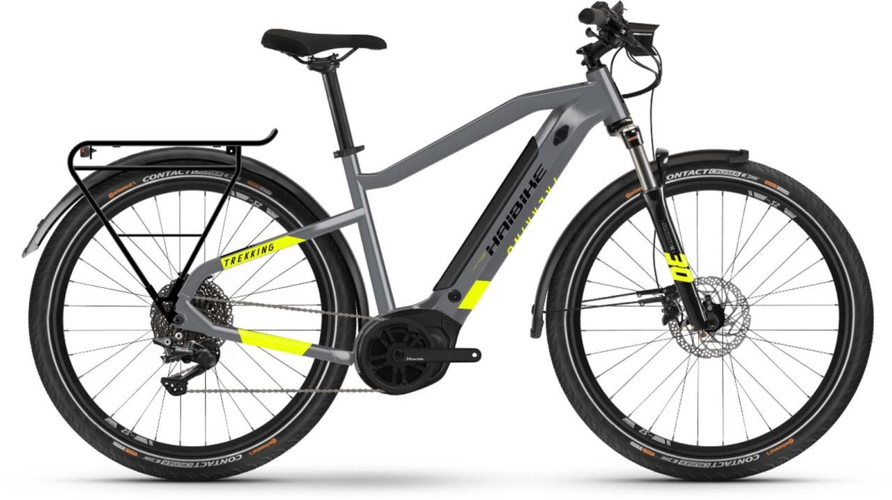 Haibike Trekking 6 i500Wh cool grey 2021 - E-Bike Trekkingrad Herren