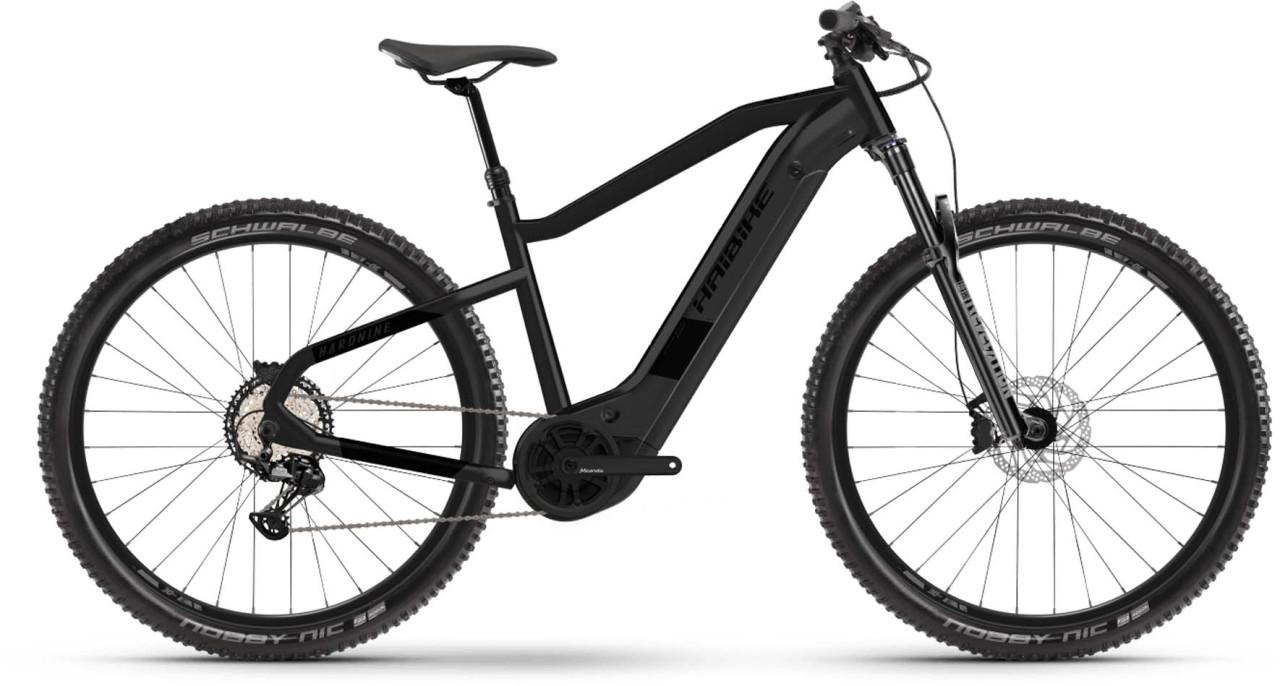 Haibike HardNine 8 i630Wh black ink matte 2021 - E-Bike Hardtail Mountainbike