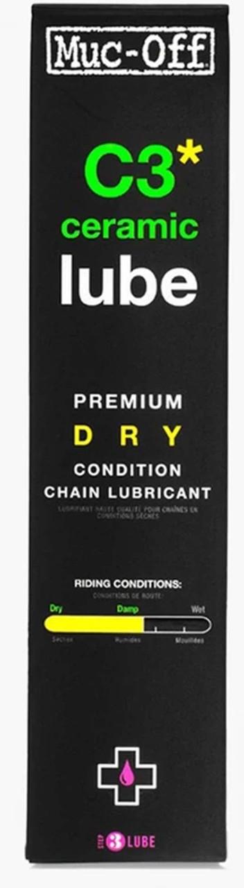 Muc-Off Kettenschutz C3 Ceramic Dry Lube 120 ml
