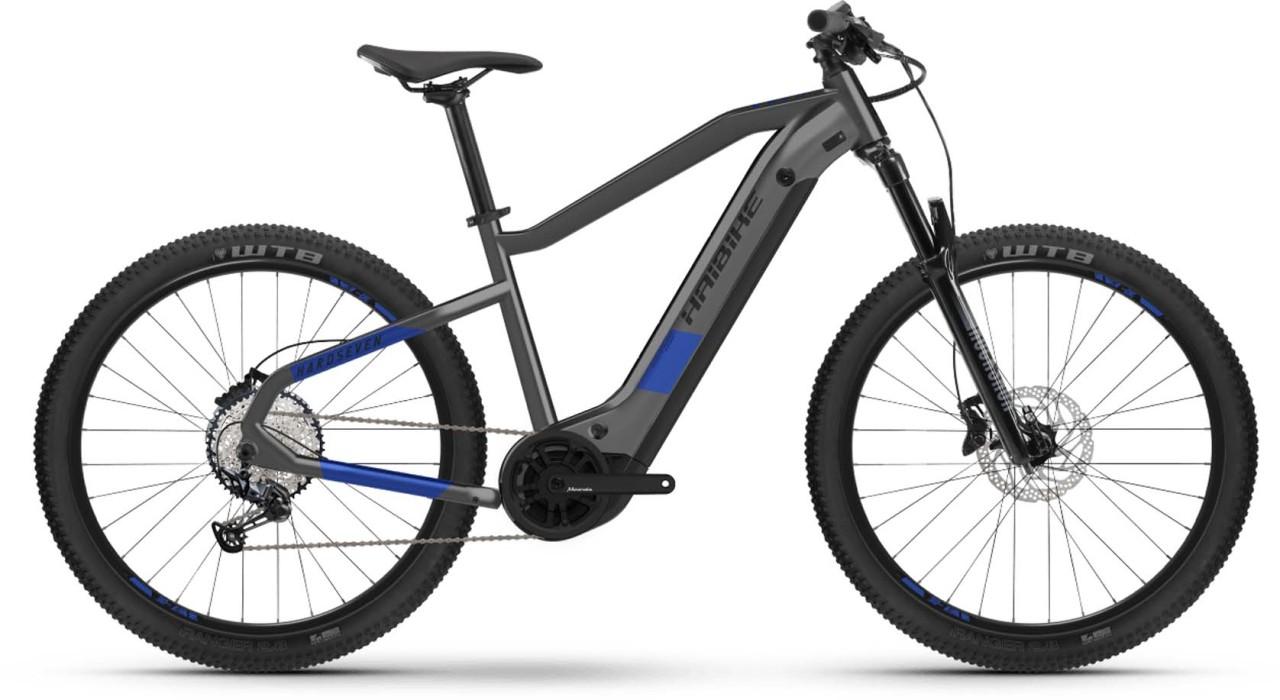 Haibike HardSeven 7 630Wh anthracite/indigo 2021 - E-Bike Hardtail Mountainbike