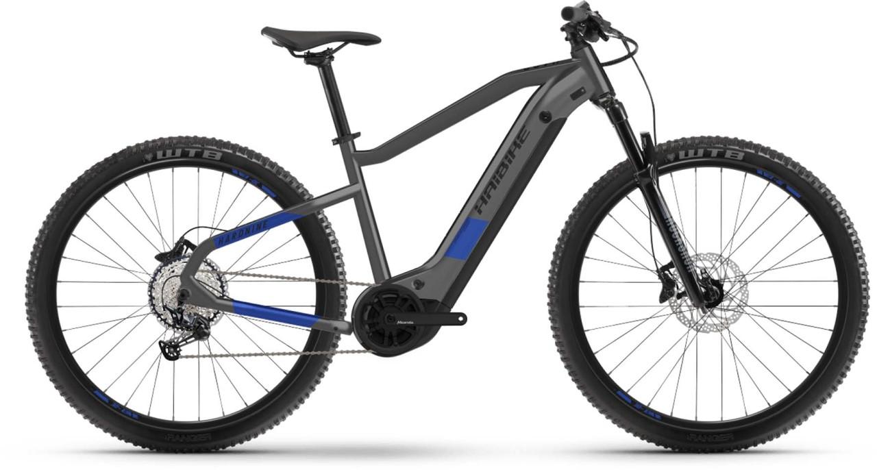 Haibike HardNine 7 i630Wh anthracite/indigo 2021 - E-Bike Hardtail Mountainbike