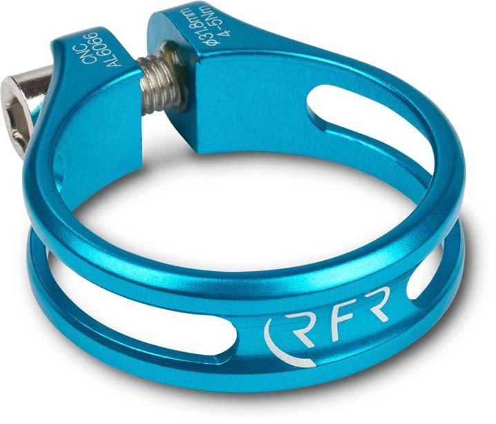 RFR Sattelklemme Ultralight 31,8 mm blue