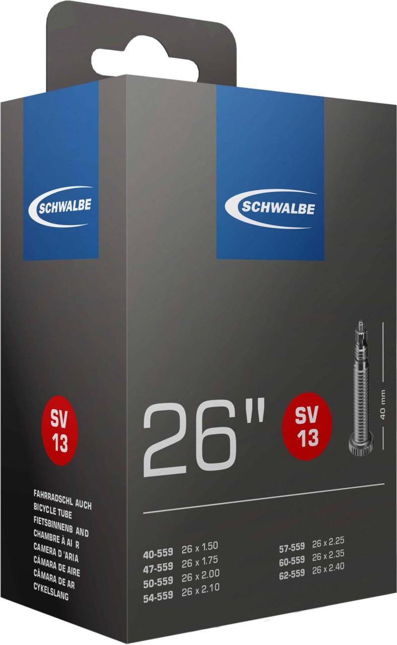 Schwalbe Schlauch 26 x 1.5-2.5 S SV13 40mm 40/62-559