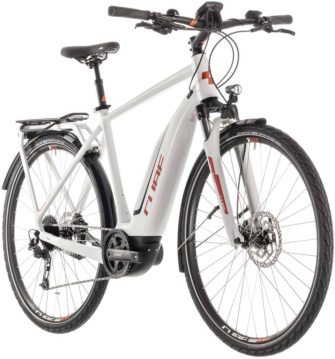 Cube Touring Hybrid 500 grey n orange - Herren 2019