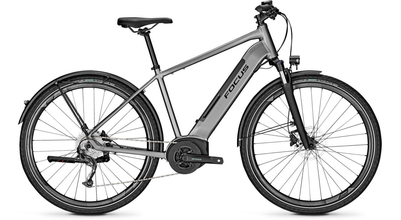 Focus Planet2 5.9 Toronto Grey 2020 - E-Bike Trekkingrad Herren
