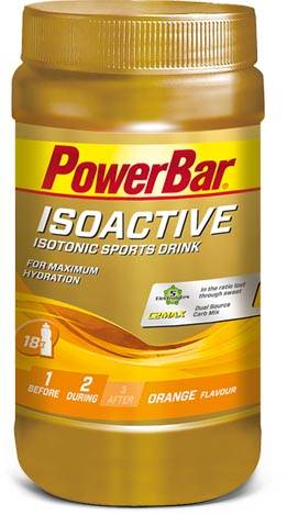 PowerBar Isoactive Orange - Isotonic Sports Drink 600g Sportgetränk