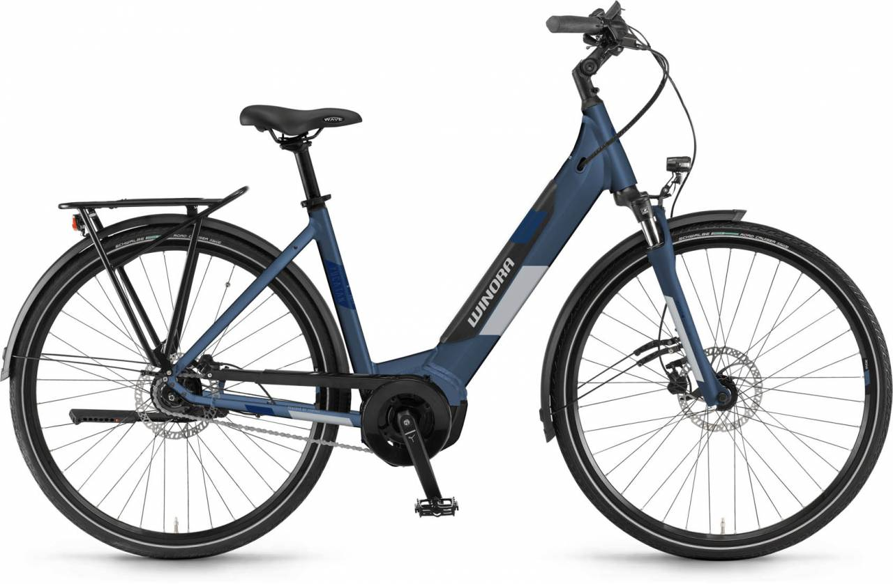 Winora Yucatan iN7f i500Wh modernblue - Easy Entry 2020