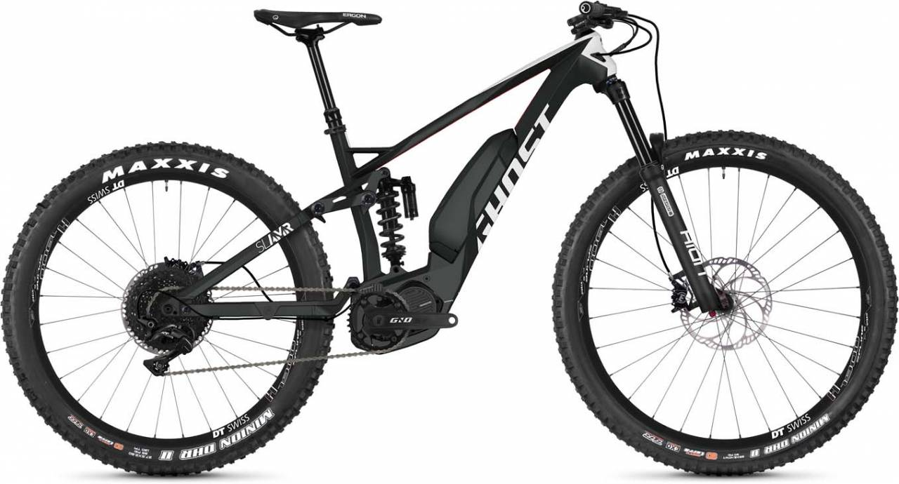 Ghost Hybride Slamr S4.7+ LC 2019 - E-Bike Fully Mountainbike