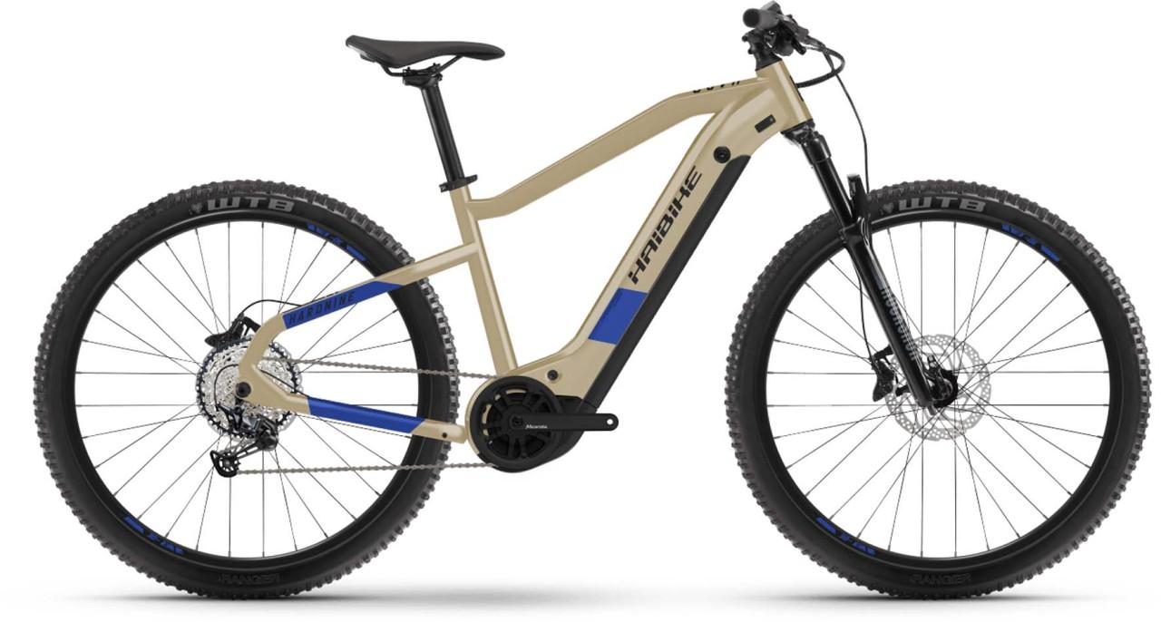 Haibike HardNine 7 i630Wh cofee/blue 2021 - E-Bike Hardtail Mountainbike