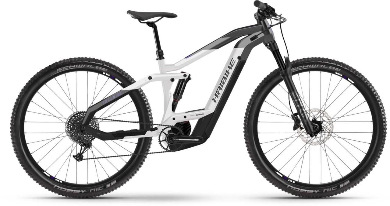 Haibike FullNine 8 i625Wh anthr./white/black 2021 - E-Bike Fully Mountainbike