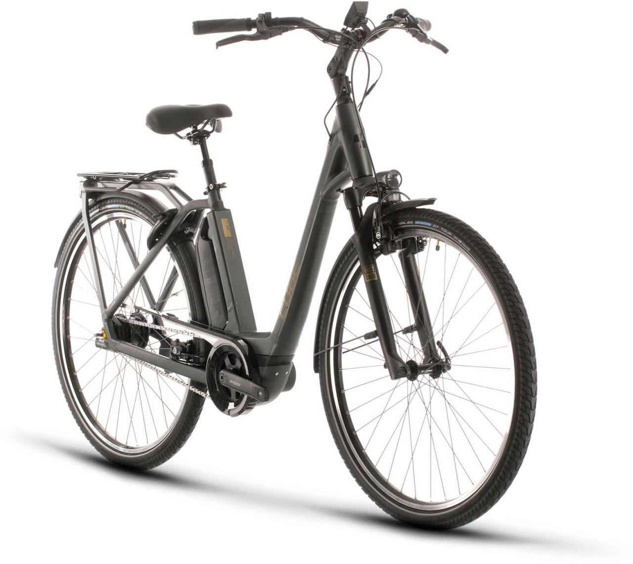 Cube Town Hybrid SL 500 iridium n gold 2020 - E-Bike Trekkingrad Tiefeinsteiger