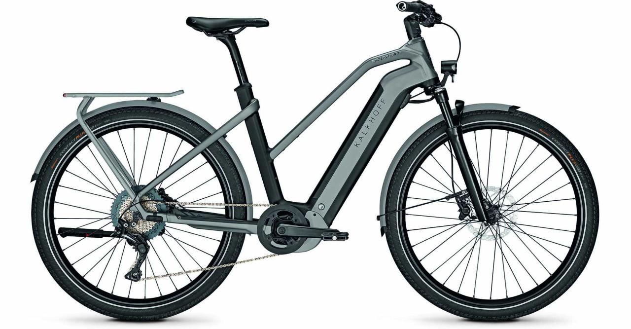 Kalkhoff Endeavour 7.B Move magicblack/jetgrey matt (Trapez) 2021 - E-Bike Trekkingrad Damen