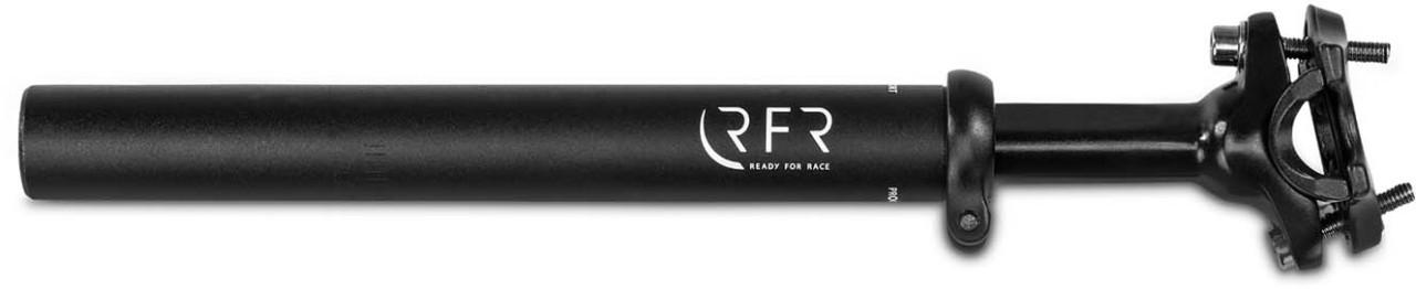 RFR Gefederte Sattelstütze (80-120kg) black - 27.2 mm x 300 mm