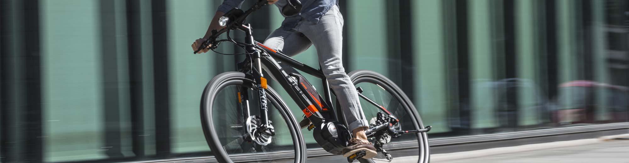 E-Crossbikes und E-Fitnessräder
