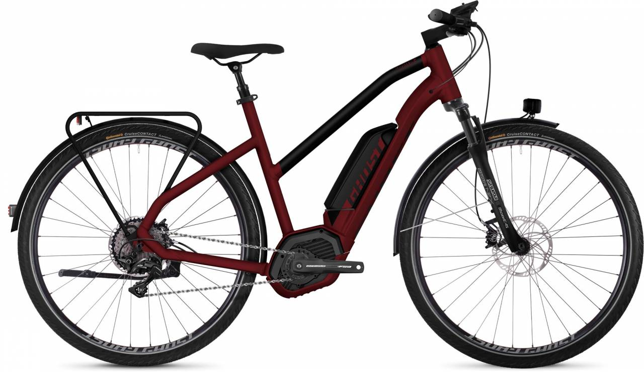 Ghost Hybride Square Trekking B8.8 AL 2018 - Damen Trapez E-Bike Trekkingrad