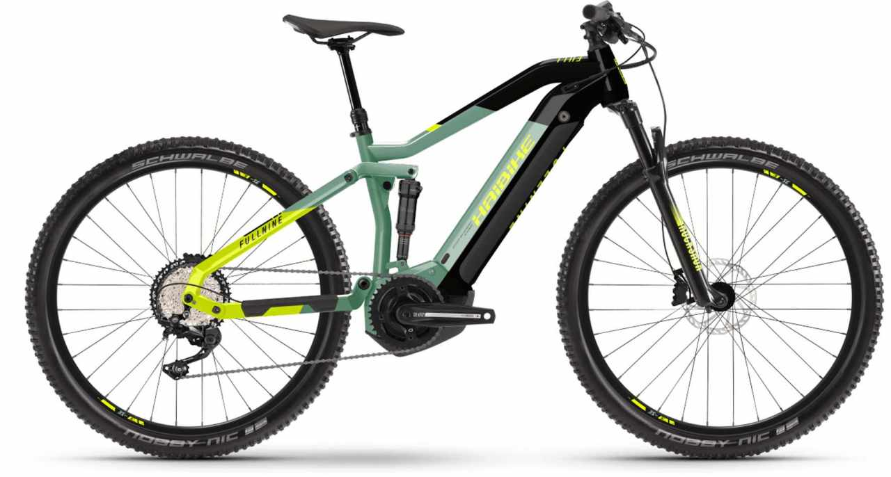 Haibike FullNine 6 i630Wh defender/ink 2021 - E-Bike Fully Mountainbike
