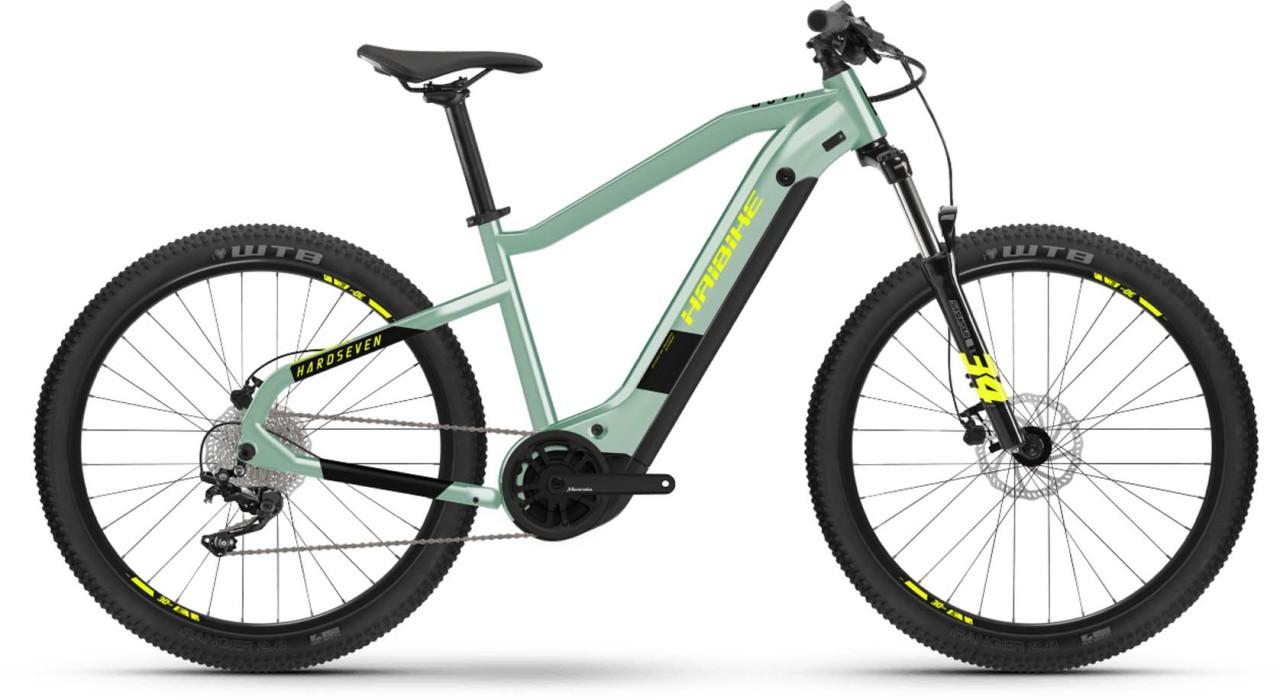 Haibike HardSeven 6 i630Wh defender/black 2021 - E-Bike Hardtail Mountainbike