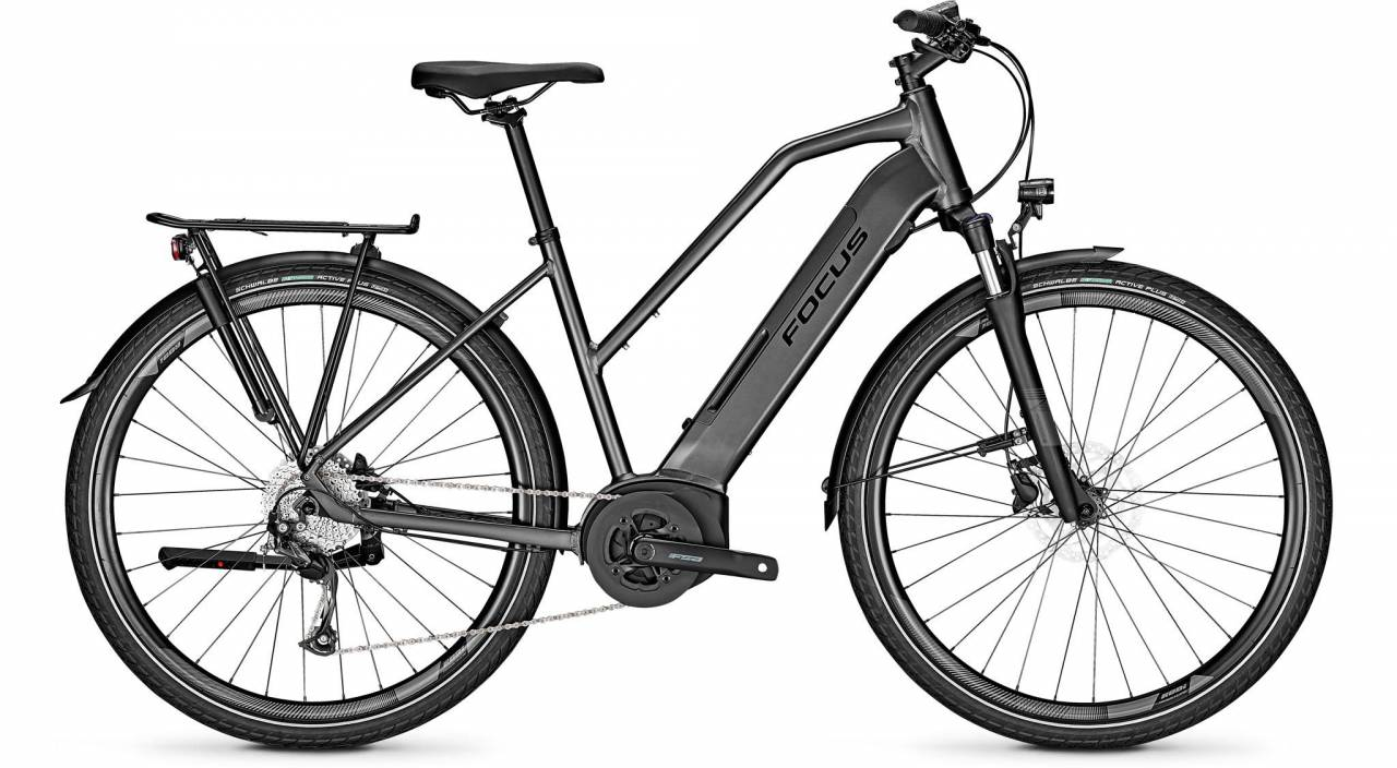 Focus Planet2 5.7 Diamond Black 2021 - E-Bike Trekkingrad Damen