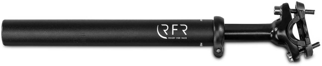 RFR Gefederte Sattelstütze (60 - 90 kg) black - 27.2 mm x 300 mm