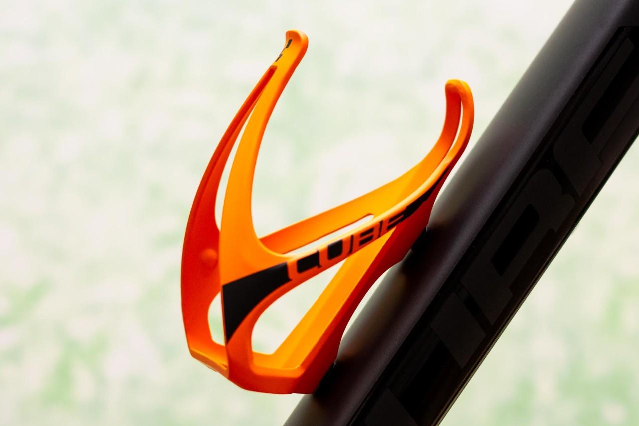 Cube Flaschenhalter HPP matt orange n black