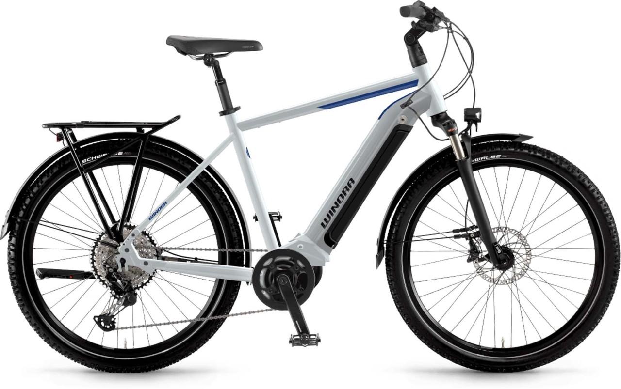 Winora Yucatan 12 i630 Wh winterwhite 2021 - E-Bike Trekkingrad Herren