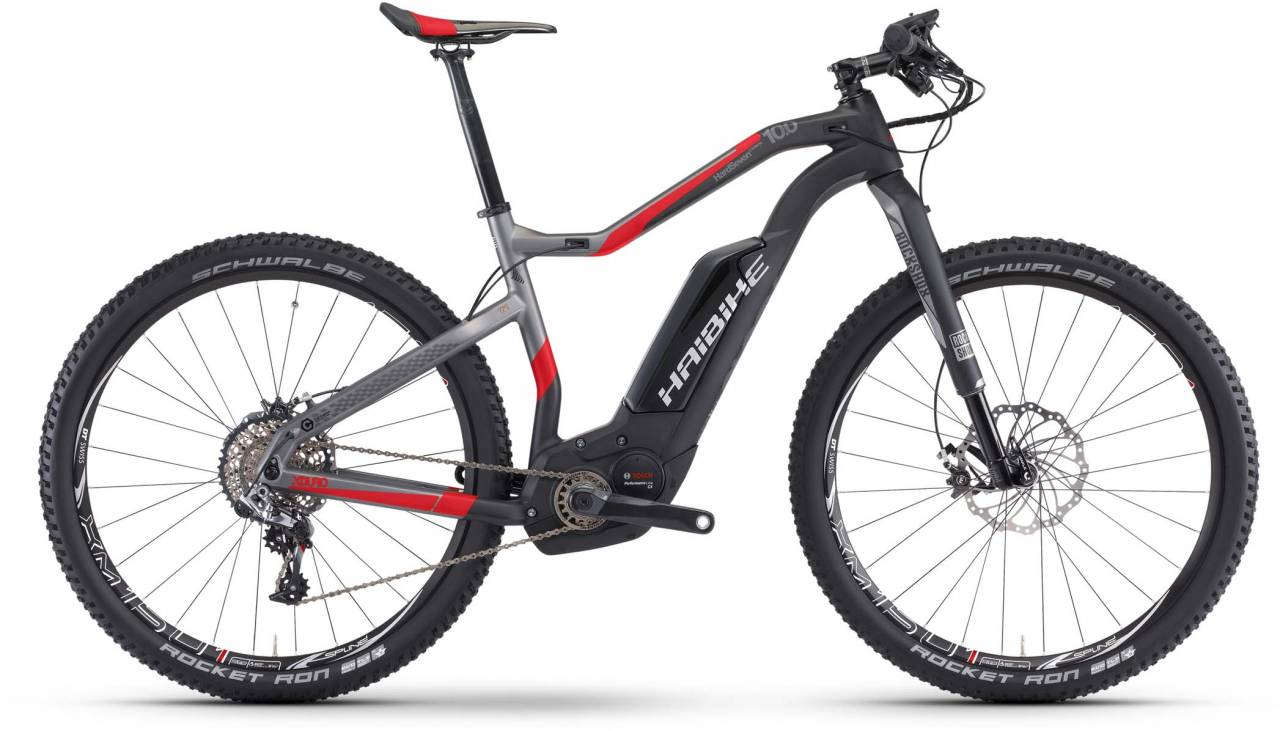 Haibike XDURO HardSeven Carb. 10.0 500Wh carbon/anthr./rot matt 2017 - E-Bike Hardtail Mountainbike