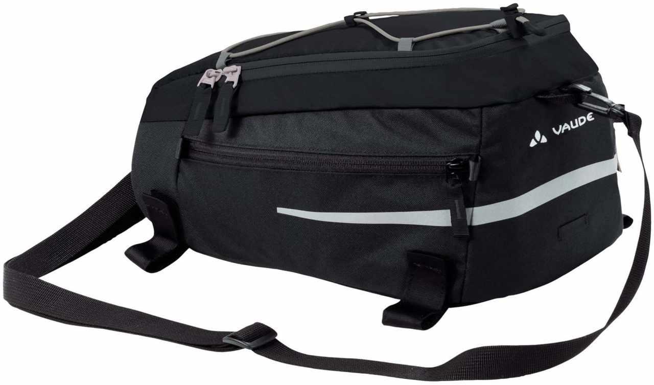Silkroad M - black - Gepäckträgertasche