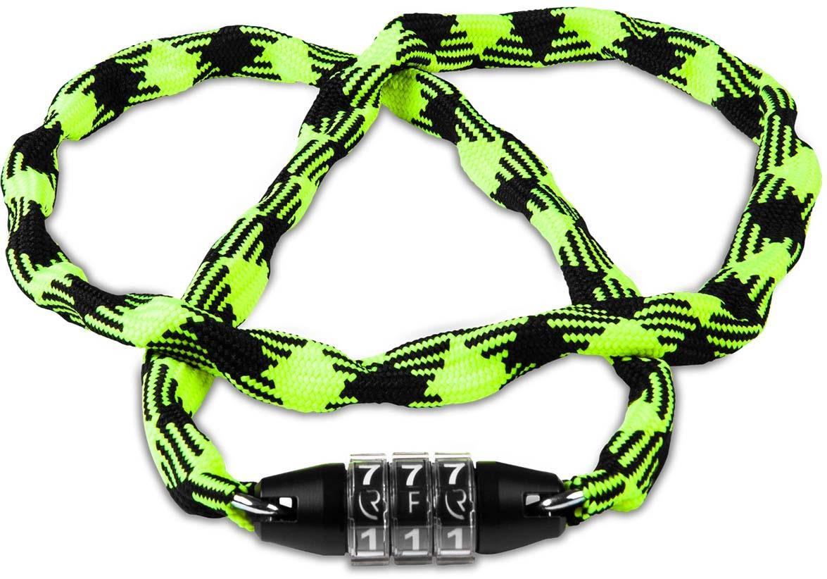 RFR Zahlenkettenschloss Style CMPT neon yellow n black