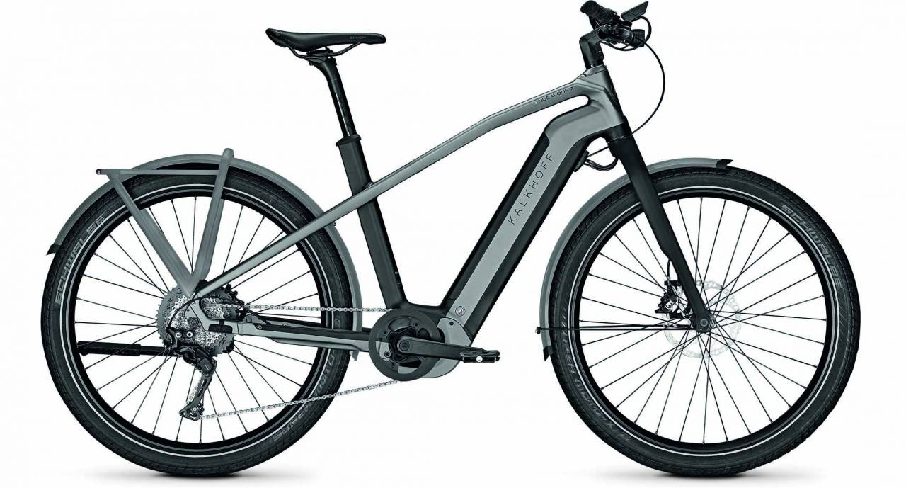 Kalkhoff Endeavour 7.B Pure magicblack/jetgrey matt (Diamond) 2020 - E-Bike Trekkingrad Herren