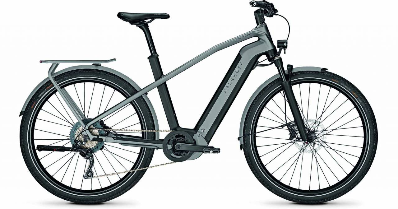 Kalkhoff Endeavour 7.B Move magicblack/jetgrey matt (Diamond) 2021 - E-Bike Trekkingrad Herren