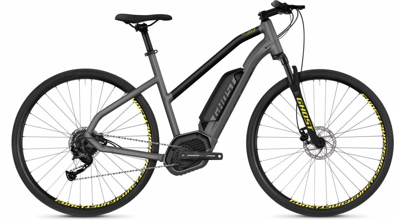 Ghost Hybride Square Cross B2.9 AL 2018 - Damen Trapez E-Bike Crossrad