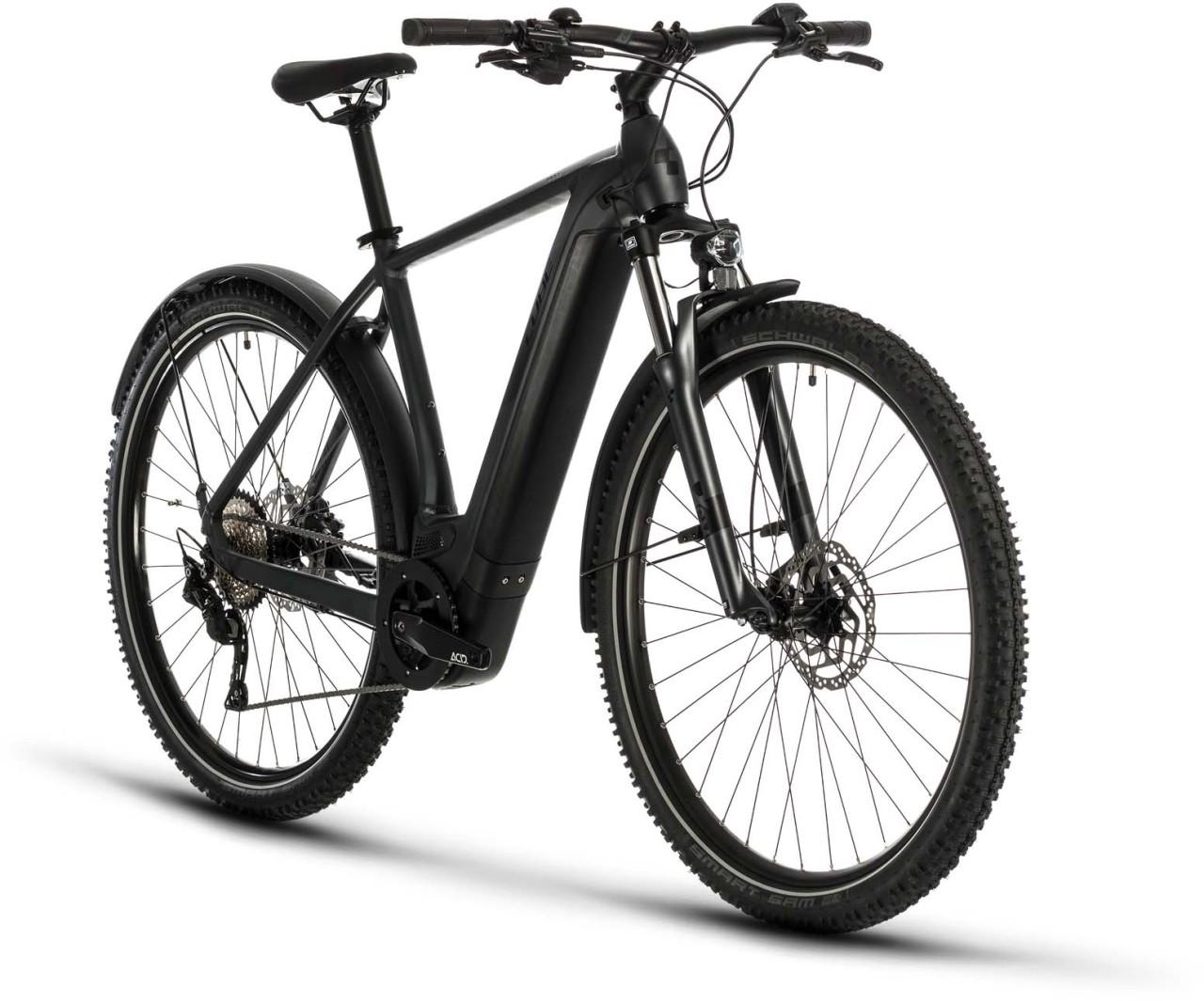 Cube Cross Hybrid Pro 625 Allroad iridium n black 2020 - E-Bike Crossrad Herren